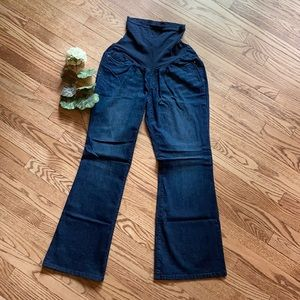 Oh Baby Maternity Flare Jeans Large